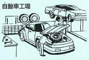 自動車工場